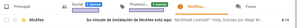 McAfee LiveSafe activate