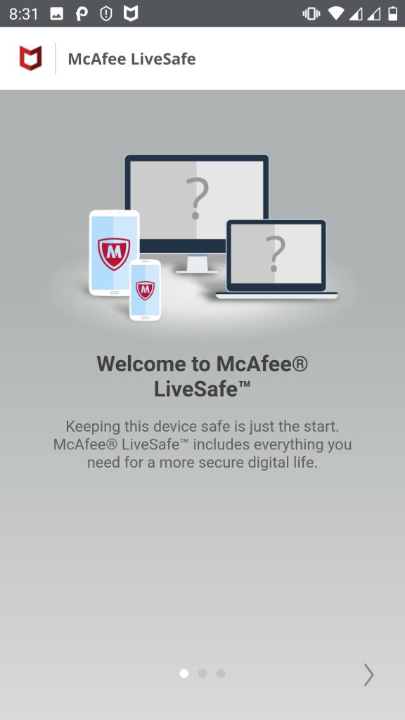 McAfee LiveSafe--