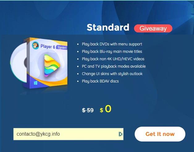 DVDFab Player 6 Standard