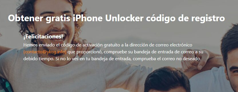 registro iPhone Unlocker