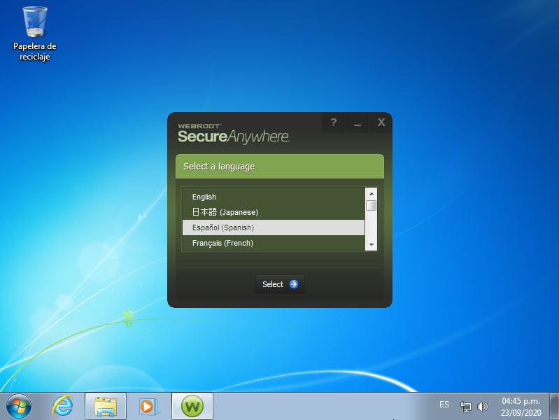 SecureAnywhere AntiVirus - Miniatura 1