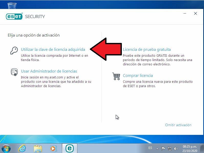 ESET Internet Security  registro