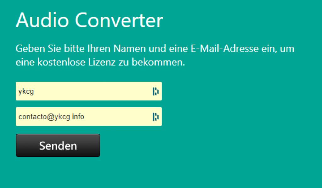 AnyMP4 Audio Converter - License