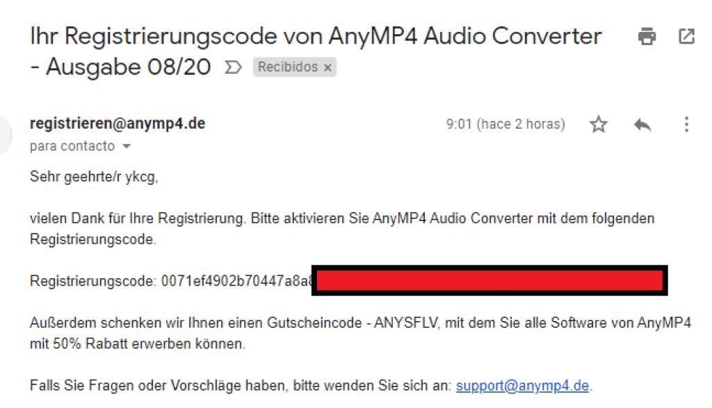 AnyMP4 Audio Converter - Serial