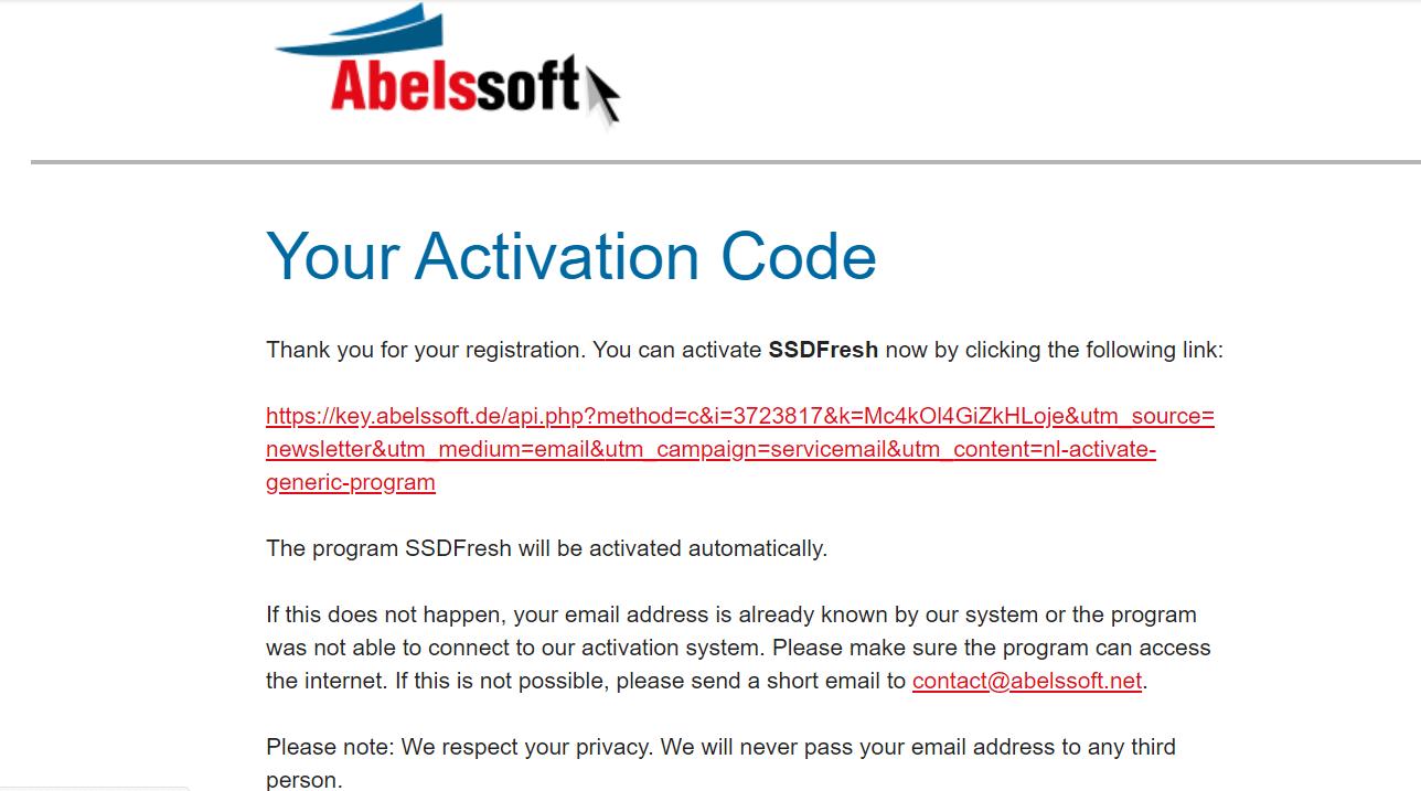 Abelssoft SSD Fresh -