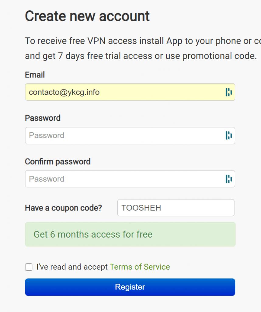 Seed4.Me VPN - License 1