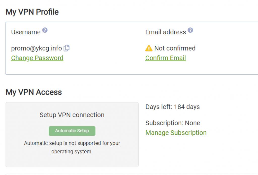 Seed4.Me VPN - License 2