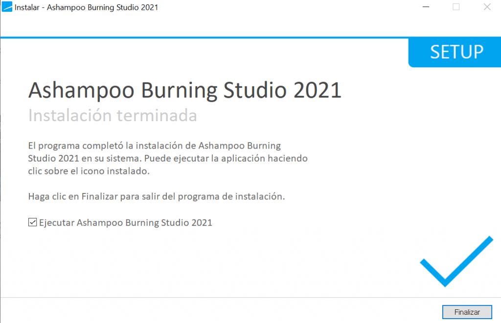 Ashampoo Burning Studio 2021 - Activate 2