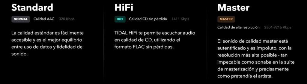 Tidal HIFI