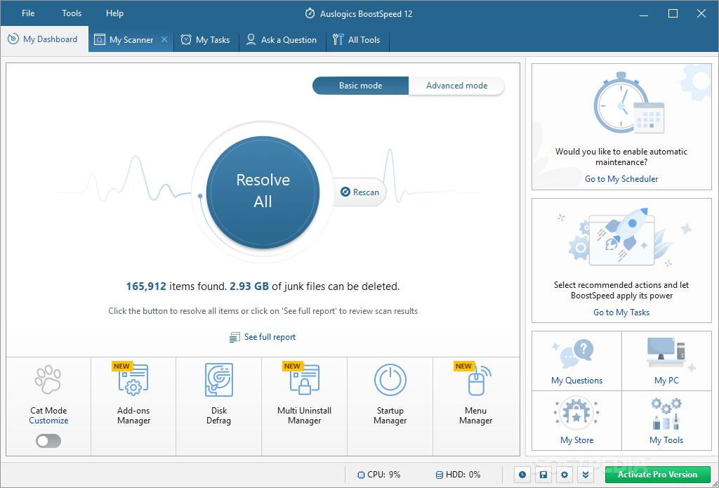 Optimizador Windows 10
