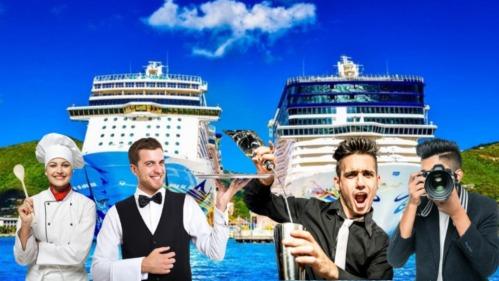 Gana dinero en dólares viajando por el mundo en cruceros