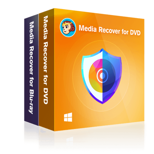 DVDFab Media Recover for DVD & Blu-ray