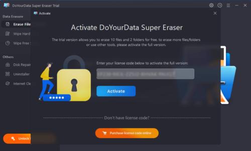 DoYourData Super Eraser - Windows