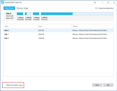 EaseUS Disk Copy Pro