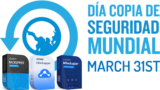 Obsequios World backup day – Día mundial del Backup
