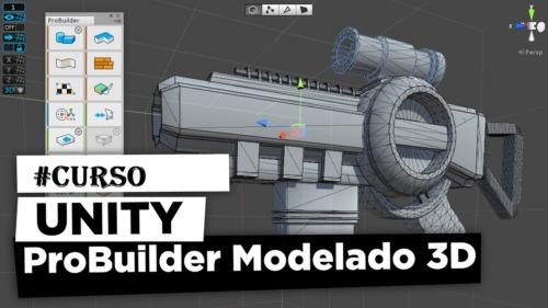 Unity Modelado 3D para Videojuegos