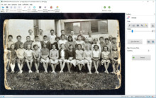 Restaurar fotos antiguas: Photo Retoucher licencia gratuita