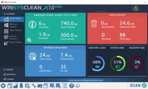 WinSysClean X10 PRO