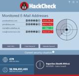 HackCheck 2021: Sistema de advertencia en caso de hackeos