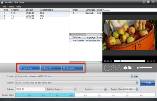 AnyMP4 DVD Copy