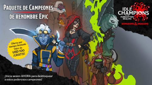 Idle Champions de Forgotten Realms