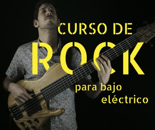 Curso de bajo eléctrico / Rock